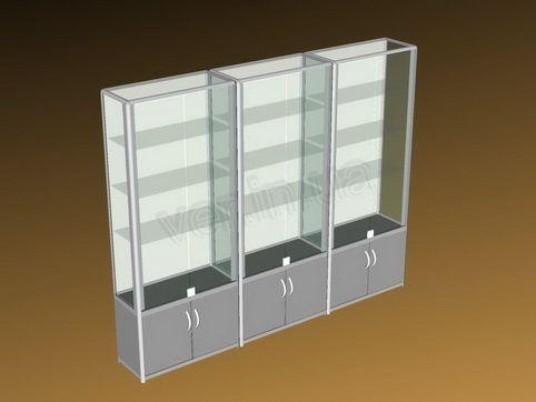.Эскиз стеклянных витрин.1